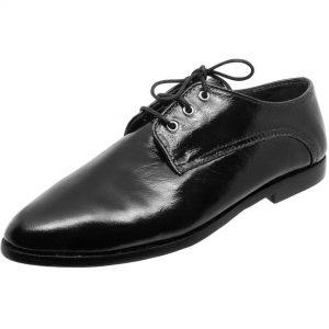 Zapato Ester Cuero Negro Richato
